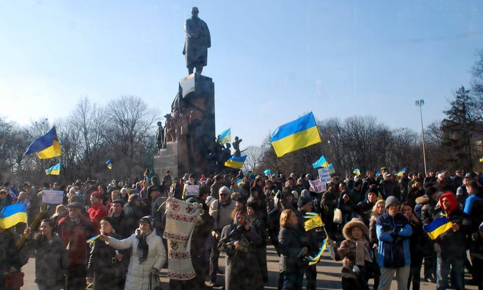 Kharkiv demostration