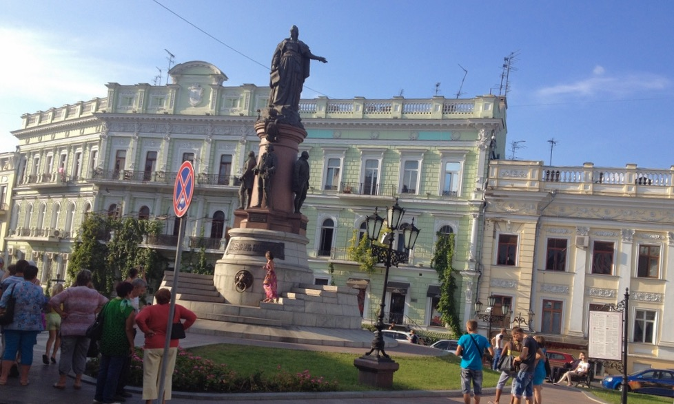Monument to the founders of Odessa