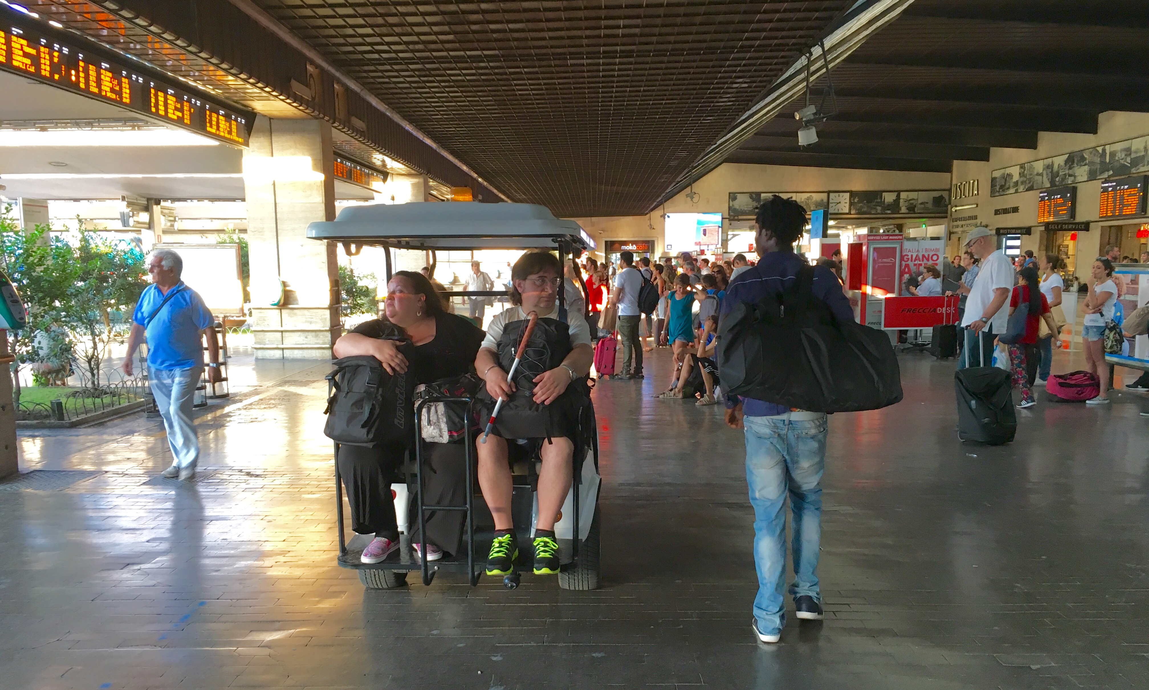 Why passengers should be weighed along with their luggage!