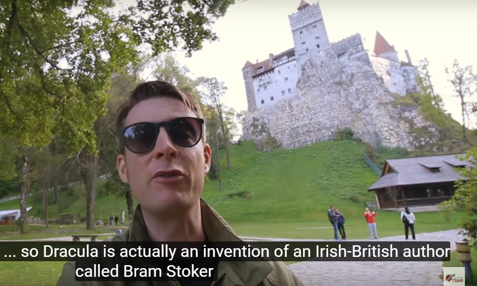 "An Irish vlogger came to Transylvania to ""kill"" Dracula"